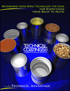 Poster Design for Technical Coatings, a Division of Benjamin Moore