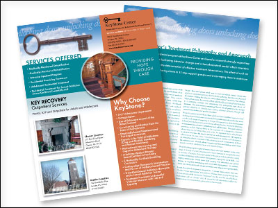 sales sheet for KeyStone Center