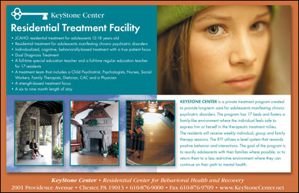 trade ad design for Keystone Center