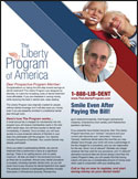 Liberty program sell sheet