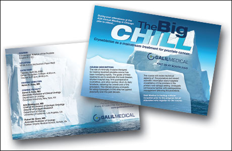 Galil Big Chill Postcard