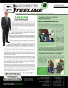 A Direct Mail Newsletter for Sandmeyer Steel Co.